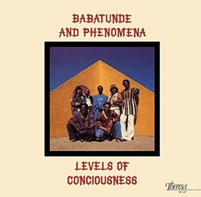 babatunde & phenomena - levels of consciousness (33rpm lp)