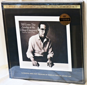 bill evans - sunday at the village vanguard (2 x 45rpm ultradisc one step lp box halfspeed)