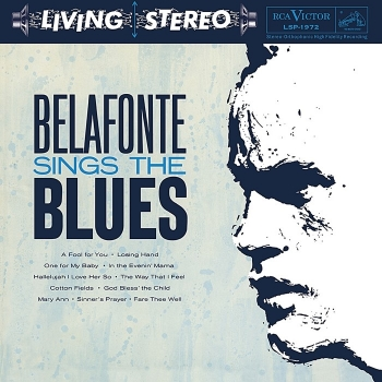 harry belafonte – sings the blues (33rpm lp)