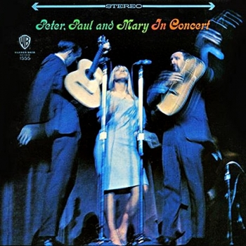 peter, paul and mary - in concert (2 x 33rpm lp)