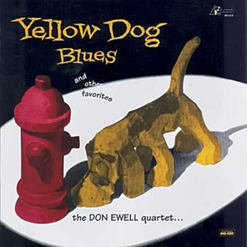 don ewell quartet – yellow dog blues (33rpm lp)