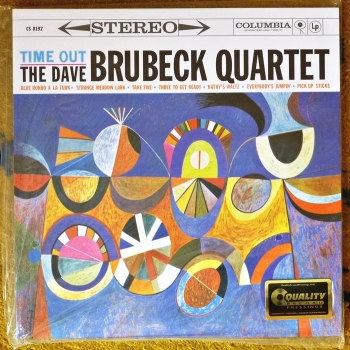 dave brubeck - time out  (2 x 45rpm lp)