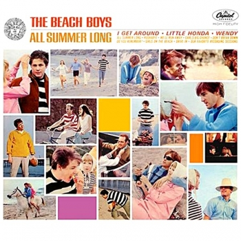 beach boys - all summer long (mono, 33rpm lp)