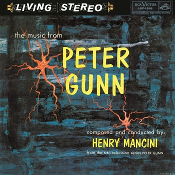 henry mancini - the music from peter gunn (2 x 45rpm lp)