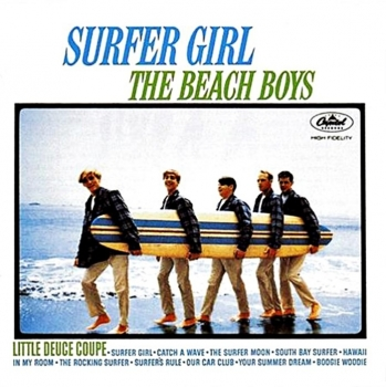 beach boys – surfer girl (33rpm lp)