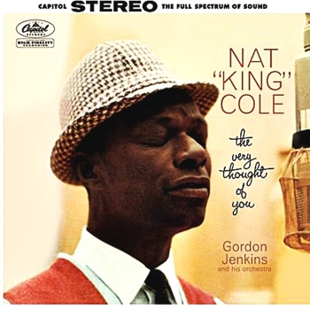 nat 'king' cole -  the very thought of you (2 x 45rpm lp)