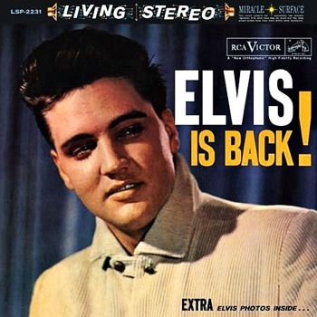 elvis presley - elvis is back! (2 x 45rpm lp)