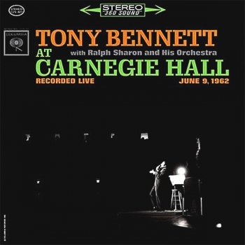 tony bennett - at carnegie hall (2 x 33rpm lp)