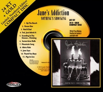 jane's addiction – nothing's shocking (gold cd)