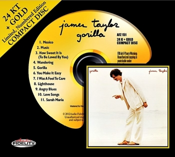 james taylor - gorilla (gold cd)