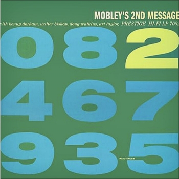 hank mobley - mobley's 2nd message (33rpm lp)