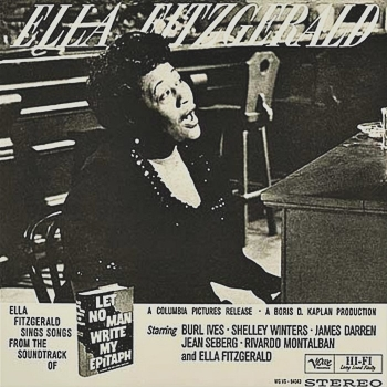 ella fitzgerald - let no man write my epithap (2 x 45rpm lp)