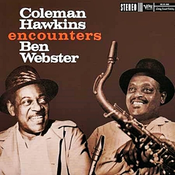 coleman hawkins encounters ben webster (2 x 45rpm lp)