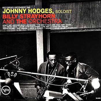 johnny hodges with billy strayhorn (2 x 45rpm lp)