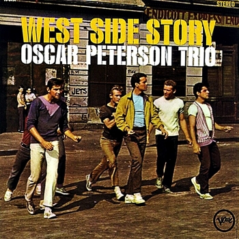 oscar peterson - west side story  (2 x 45rpm lp)