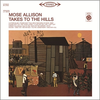 mose allison - takes to the hills (33rpm lp)