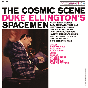 duke ellington's spacemen - cosmic scene (33rpm lp)