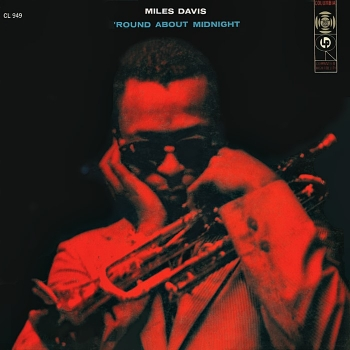 miles davis - 'round about midnight (33rpm lp)
