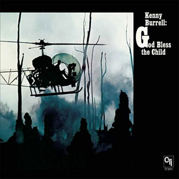 kenny burrell – god bless the child (33rpm lp)