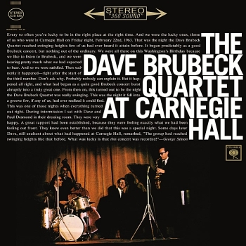 dave brubeck quartet - at carnegie hall (2 x 33rpm lp)