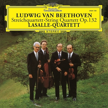 beethoven – string quartet no. 15 op. 132 in a minor (33rpm lp)