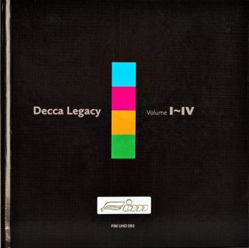 decca: supreme stereophonic legacy (4 x uhd cd)