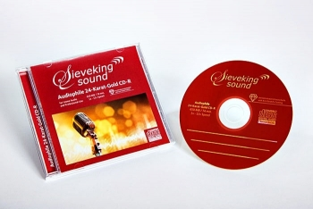 sieveking 24-karat-gold cd-r (carton of 25)