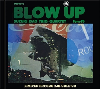 isao suzuki quartet – blow up ( gold cd)