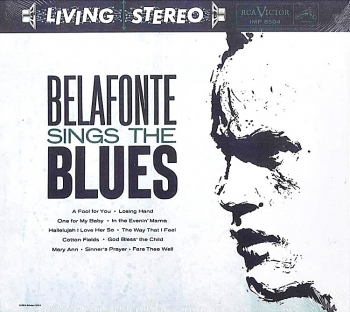 harry belafonte - sings the blues (gold cd)