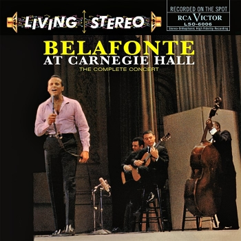 harry belafonte - at carnegie hall (2 x 33rpm lp)