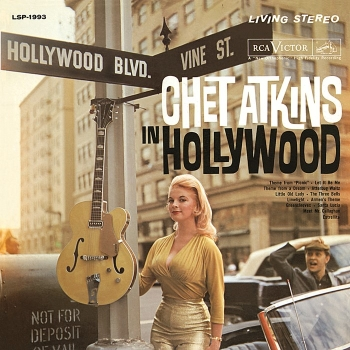 chet atkins - in hollywood (33rpm lp)