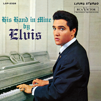 elvis presley - his hands in mine (33rpm lp)