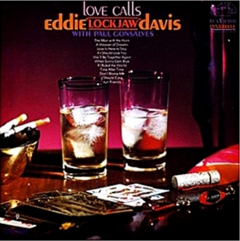 "eddie ""lockjaw"" davis - love calls (33rpm lp)"