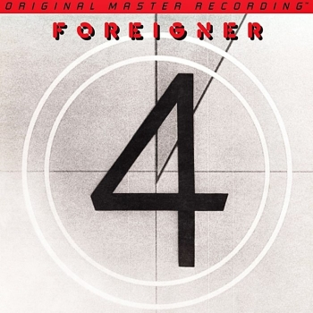 foreigner - 4 (33rpm lp halfspeed)