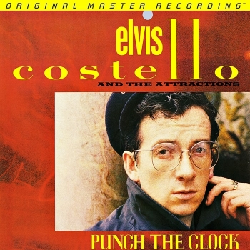 elvis costello - punch the clock (33rpm lp halfspeed)