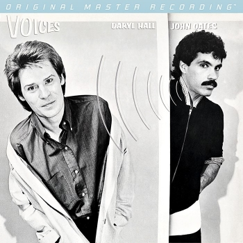 hall & oates - voices (33rpm lp halfspeed)