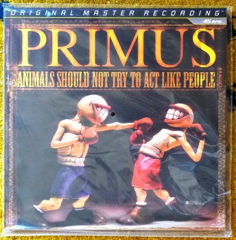 primus - animals should not try to act like people (45rpm lp halfspeed)