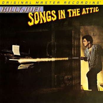 billy joel - songs in the attic (2 x 45rpm lp halfspeed)