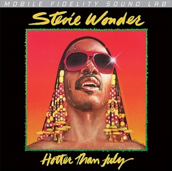 stevie wonder – hotter than july (33rpm lp)