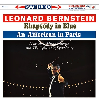 gershwin - rhapsody in blue, an american in paris (33rpm lp)