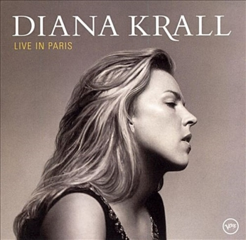 diana krall – live in paris (2 x 45rpm lp)