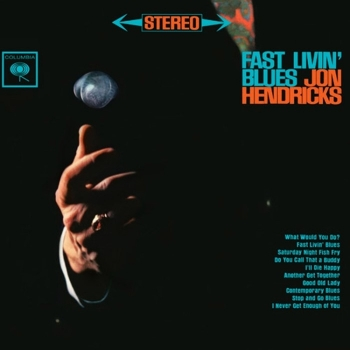 jon hendricks - fast livin' blues (2 x 45rpm lp)