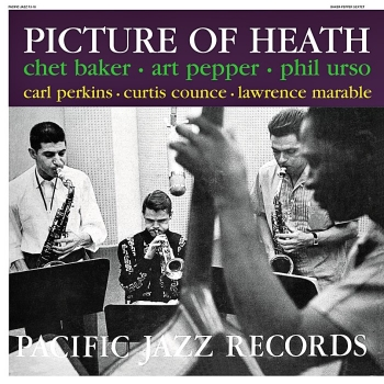 chet baker - picture of heath (33rpm lp)