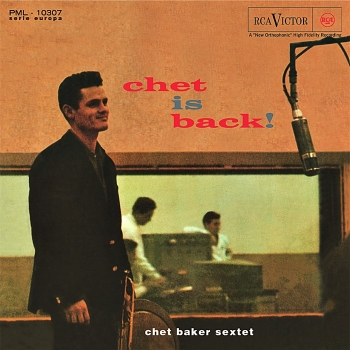 chet baker - chet is back! (33rpm lp)