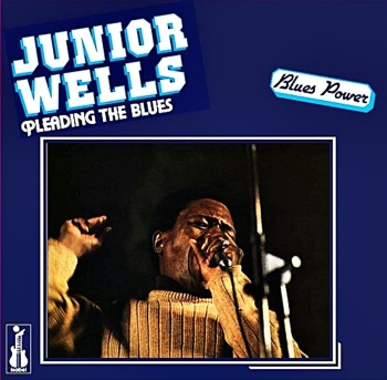 junior wells - pleading the blues (33rpm lp)