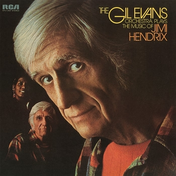 gil evans orchestra – plays the music of jimi hendrix (33rpm lp)