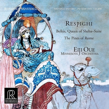 respighi - belkis, queen of sheba suite (33rpm lp halfspeed)