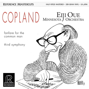 copland - fanfare for the common man & third symphony (45rpm lp halfspeed)