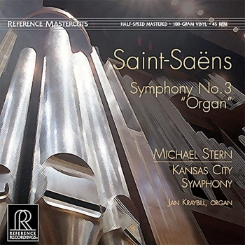"saint-saëns - symphony no. 3 (""organ"") (45rpm lp halfspeed)"