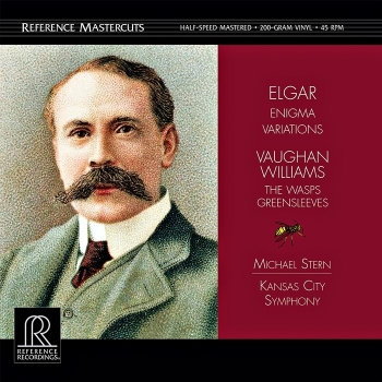 elgar / williams - enigma variations / the wasp (2 x 45rpm lp halfspeed)